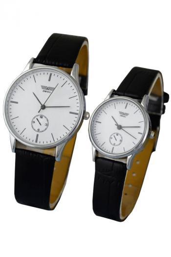 Đồng hồ đôi dây da